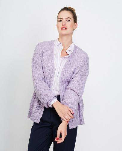 Vest van een luxe wolmix